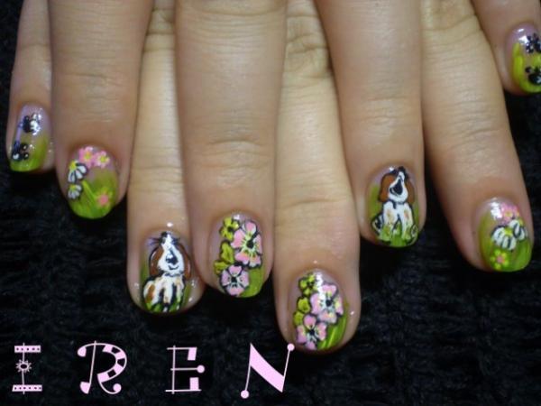 Дизайн ногтей для девочек