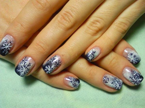 Бархатный песок для ногтей дизайн на короткие ногти 53